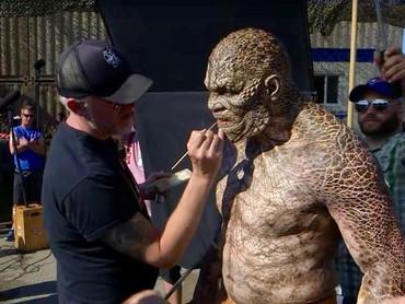 Christopher Nelson Buat Dua Sisi Karakter Killer Croc dalam Suicide Squad