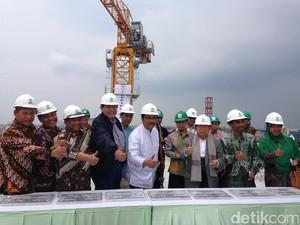 Hadiri Topping Off RSI Surabaya, CT: RSI Punya Potensi Berkembang