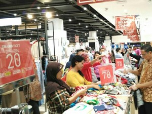 Belanja Heboh & Murah di Promo Pembukaan Transmart Rungkut Surabaya