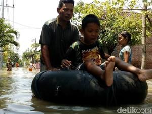 Ribuan Rumah di Mojokerto Kembali Diterjang Banjir