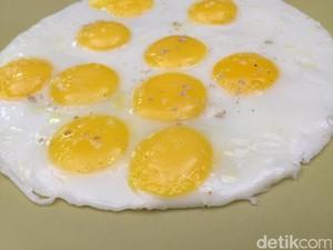 Buat si Kecil Sarapan, Bikin Saja Telur Puyuh Ceplok Ini