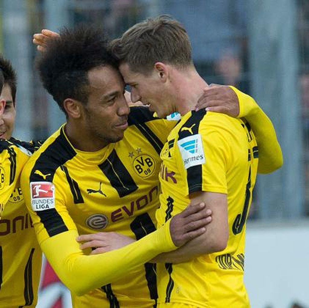 Dortmund Finis Ketiga Usai Kalahkan Bremen 4-3