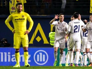 Madrid Kalahkan Villarreal 3-2 Setelah Tertinggal Dua Gol