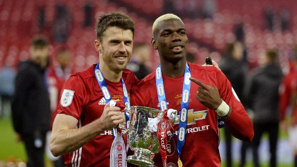 Carrick Sebut Titel Juara Piala Liga Inggris Suatu Raihan Besar