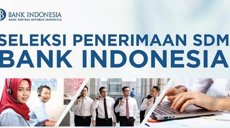 BANK INDONESIA (BI) BUKA LOWONGAN KERJA UNTUK 32 POSISI JABATAN