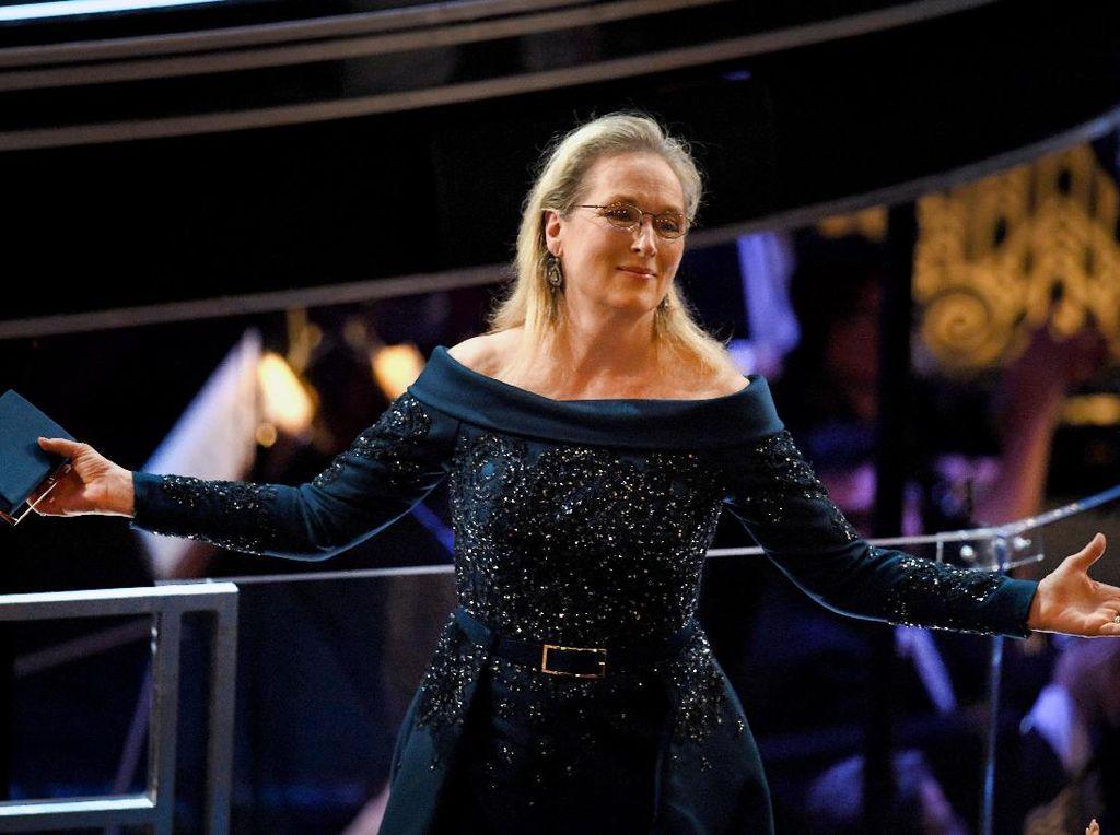 Dituding Bungkam Atas Pelecehan Weinstein, Meryl Streep Buka Suara