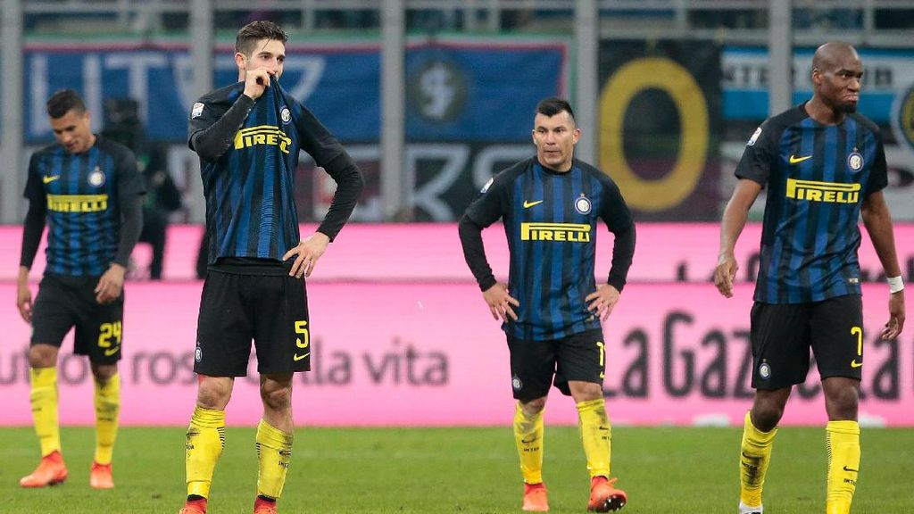 Kalah dari Roma, Inter Melangkah Mundur