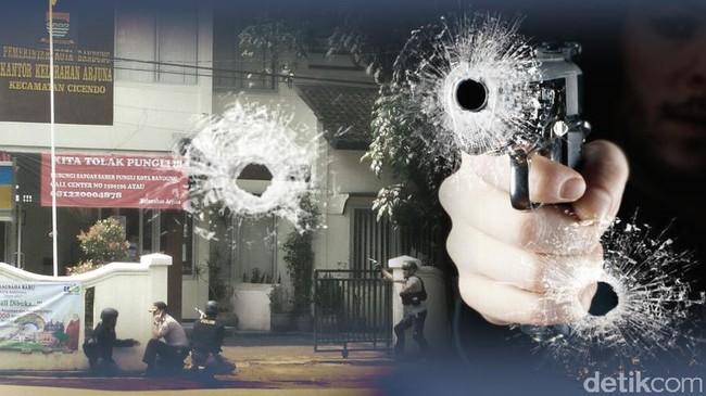 Begini Suasana Penyergapan Pelaku Bom Panci di Bandung