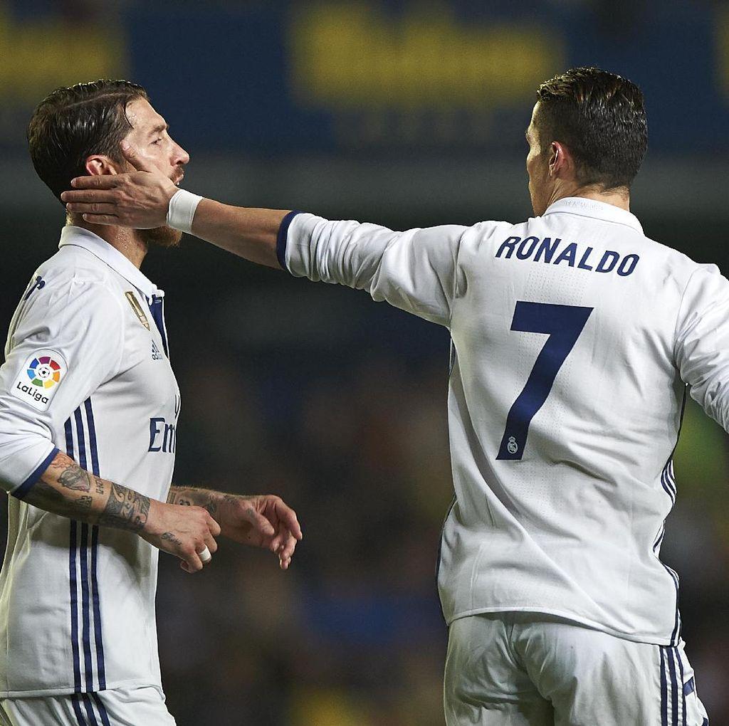 Ramos Sebut Kemenangan Atas Villarreal Hasil yang Adil untuk Madrid
