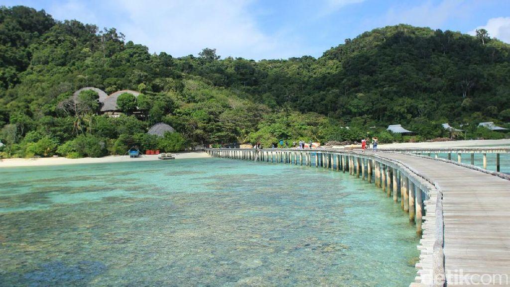 Seperti Maladewa, Padahal di Indonesia