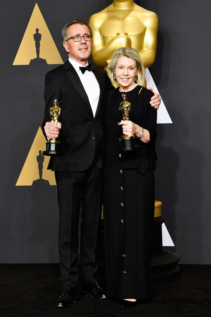 La La Land kembali menunjukan dominasinya dengan memulai lewat Best Production Design. REUTERS/Lucy Nicholson