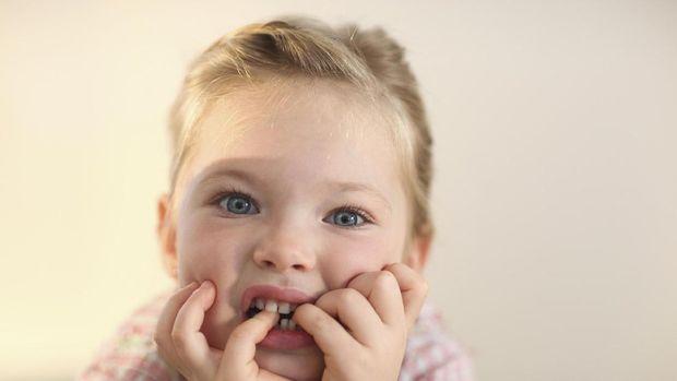 Ilustrasi gigi anak