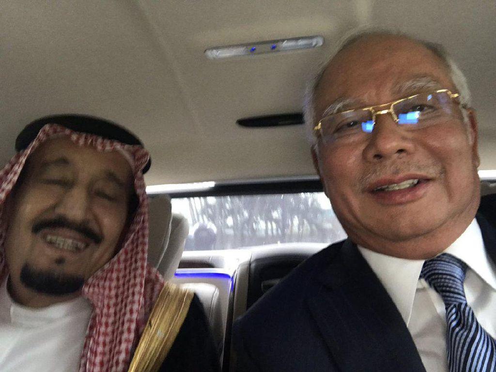 Pertemuan Bilateral Raja Salman dan PM Najib Hasilkan 4 MoU