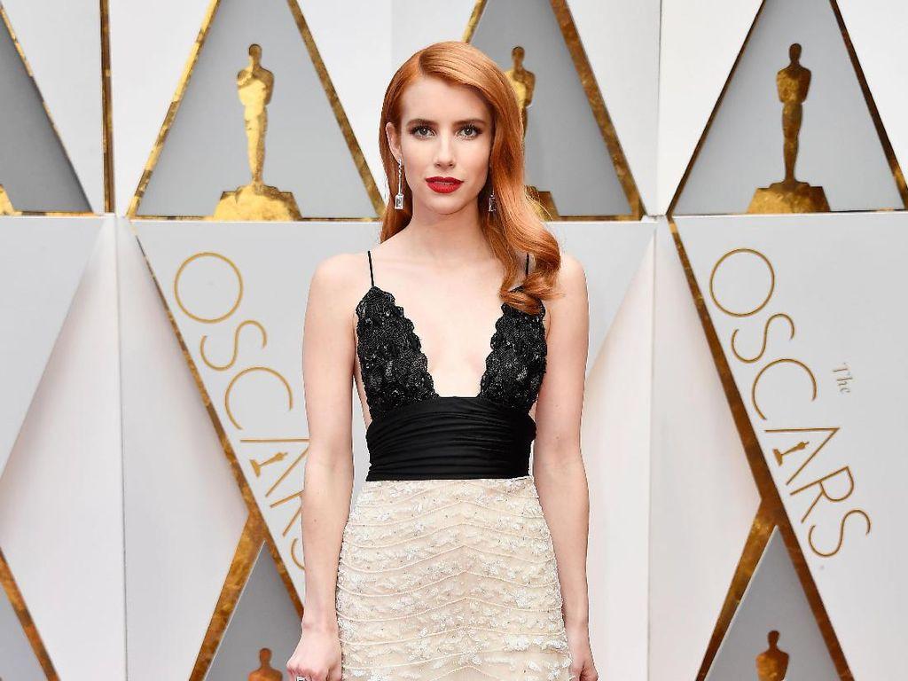 Cantiknya Emma Roberts & Olivia Culpo Bergaun Ramah Lingkungan di Oscar