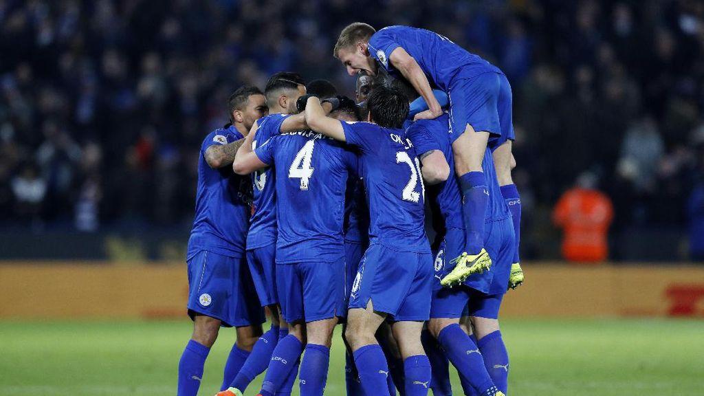 Leicester Menang Bukan karena Tampil Oke, tapi Komitmen Tinggi