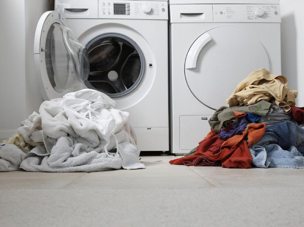 Waduh! Mesin Cuci Rentan Disarangi Bakteri Resisten terhadap Obat