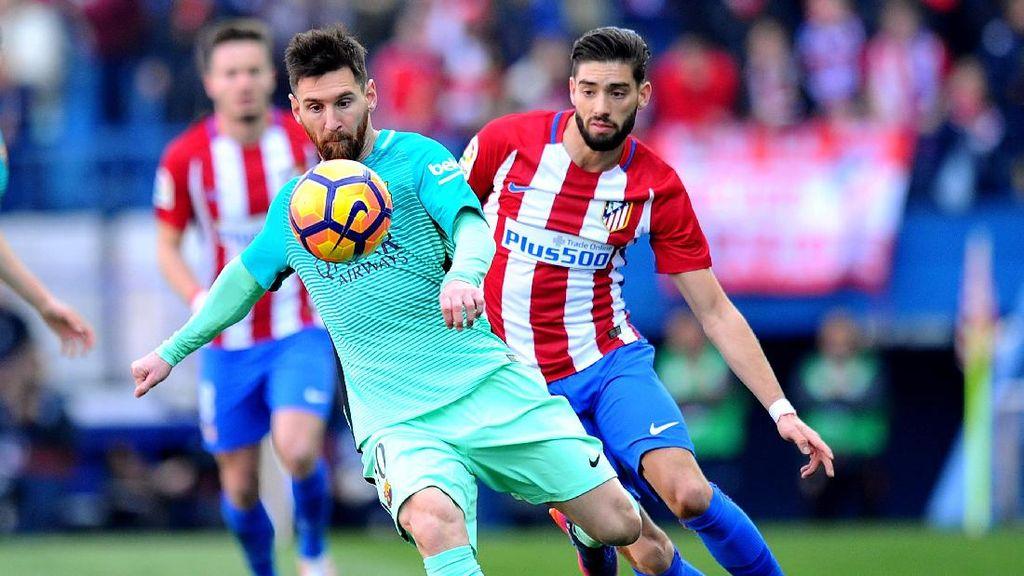 Atletico Dikalahkan Barcelona karena Kurangnya Konsentrasi pada Pertahanan