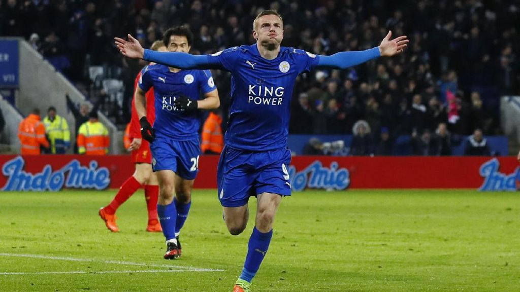 Leicester Kalahkan Liverpool di King Power Stadium