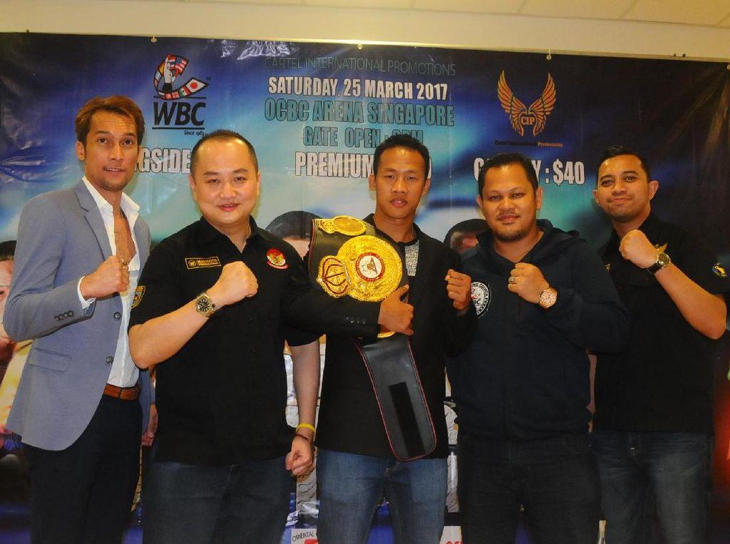 Daud Yordan Targetkan Menang KO di Singapura