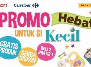 Serba Diskon Susu Anak di Baby Fair Transmart dan Carrefour