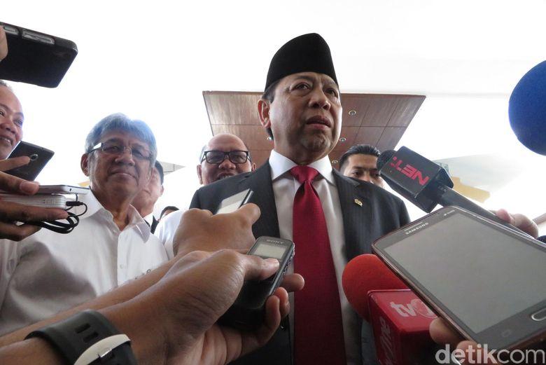 Jelang Sidang Kasus e-KTP, Novanto Bantah Kicauan Nazaruddin