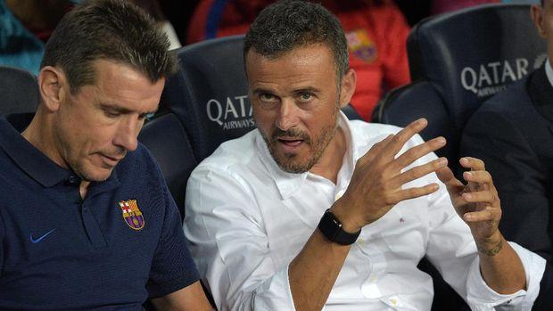 Luis Enrique jadi favorit sejumlah direktur Arsenal untuk menggantikan Arsene Wenger.