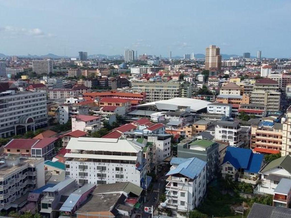 Melihat Penampakan Kota Pattaya dari Atas Ketinggian