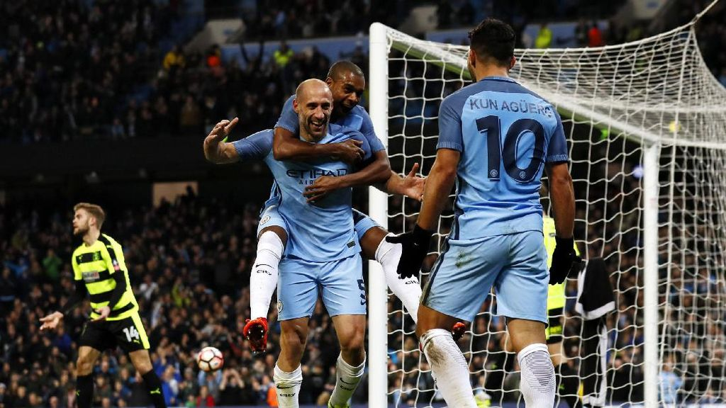 City Melangkah ke Perempatfinal Piala FA