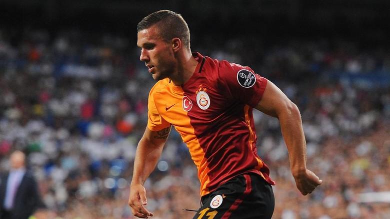 Podolski Akan Tinggalkan Galatasaray dan Gabung Klub Jepang
