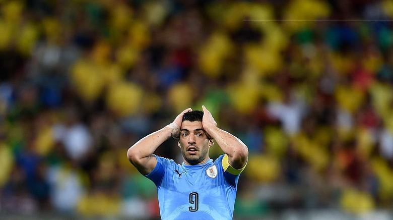 Curhat Suarez soal Insiden Gigit Chiellini dan Rasa Kesalnya ke FIFA