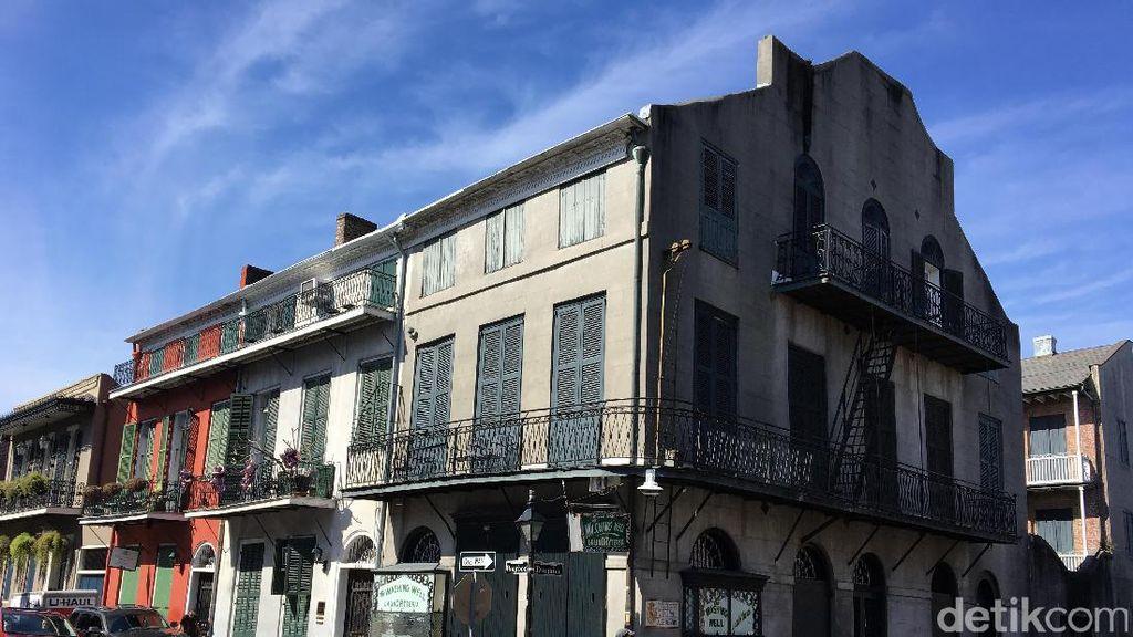 Ini Bangunan Kuno yang Instagrammable di Amerika, French Quarter