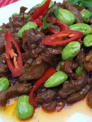 Resep Pete Oseng Daging