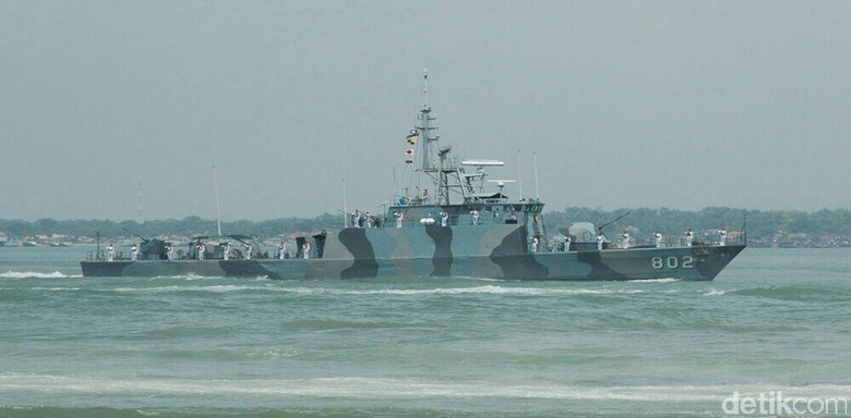 Ini 2 Kapal Perang yang Kawal Raja Salman Selama di Bali