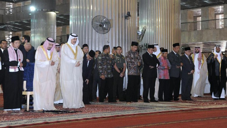 Di Mana Raja Salman akan Menunaikan Salat Jumat di Jakarta?