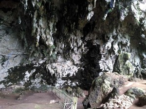 Jejak Manusia Purba di Gua Braholo Gunungkidul