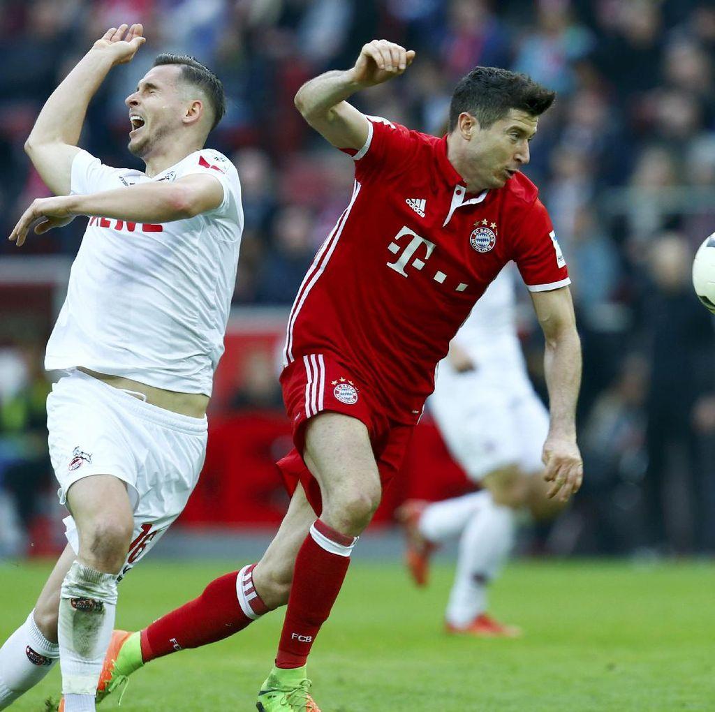 Bayern Atasi Cologne Tiga Gol Tanpa Balas