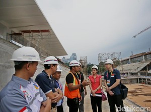 OCA Technical Delegate Tinjau Vanue Asian Games