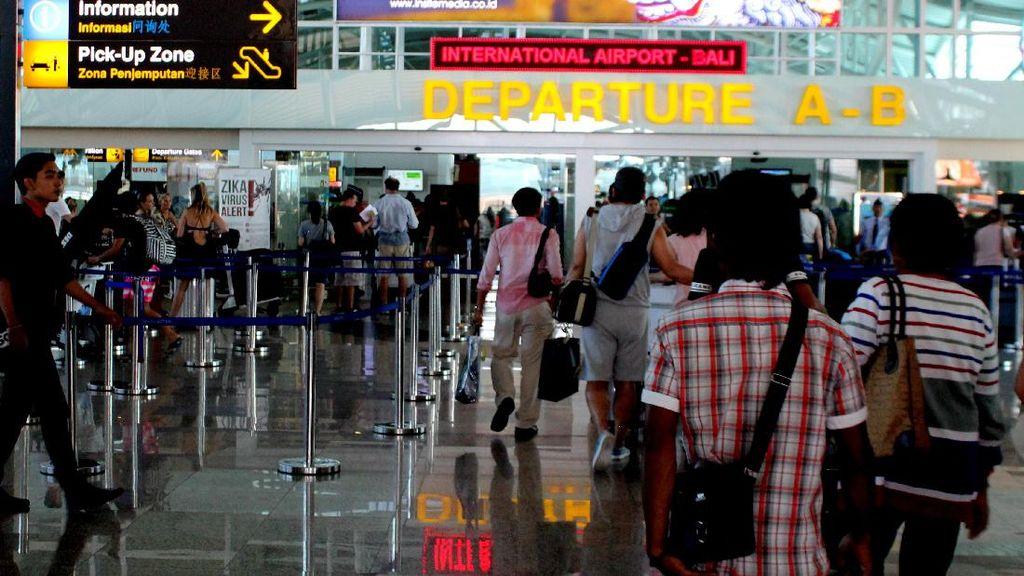 Calon Penumpang di Bandara Ngurah Rai Tak Keberatan Kena Delay