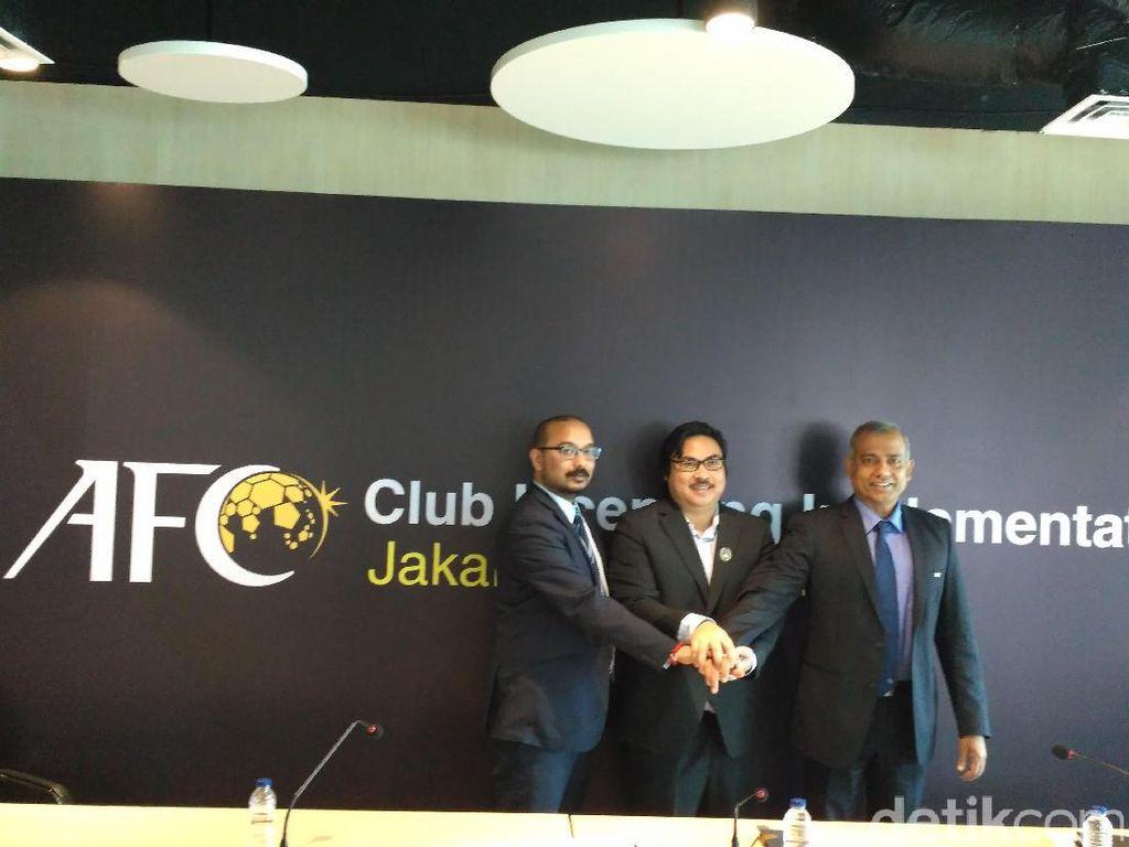 AFC Lakukan Sosialisasi Lisensi Klub di Indonesia