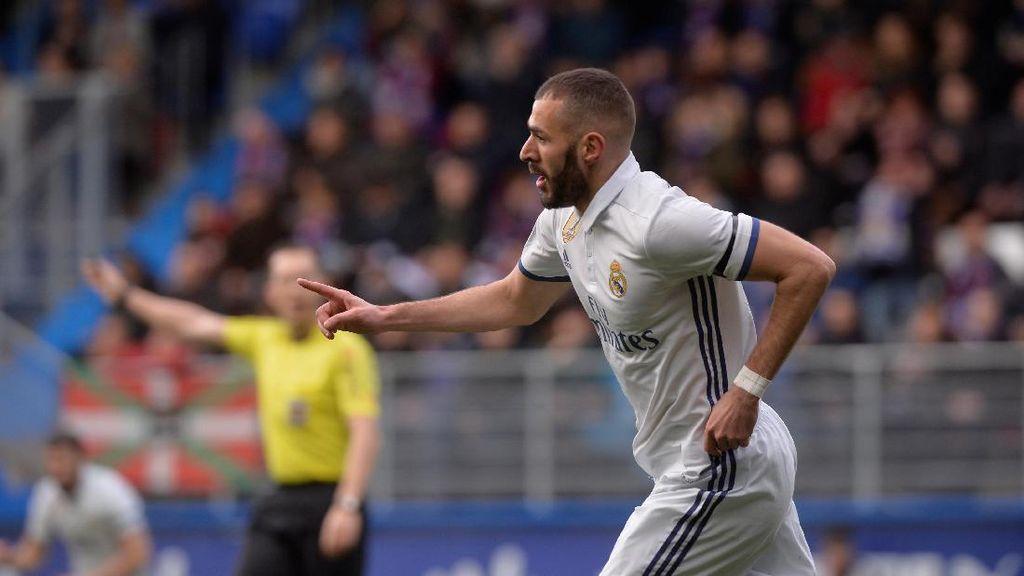 Benzema Ingin Terus Raih Gelar di Madrid