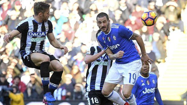 Berimbang dengan Udinese, Juventus Jauhi Roma