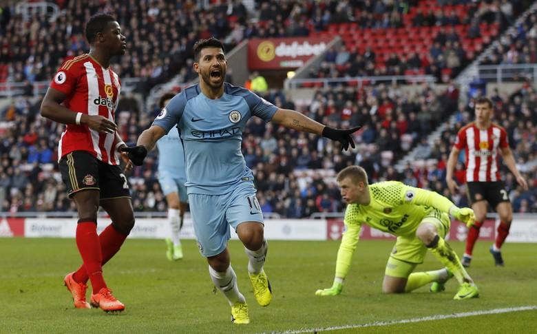 Manchester City Benamkan Sunderland