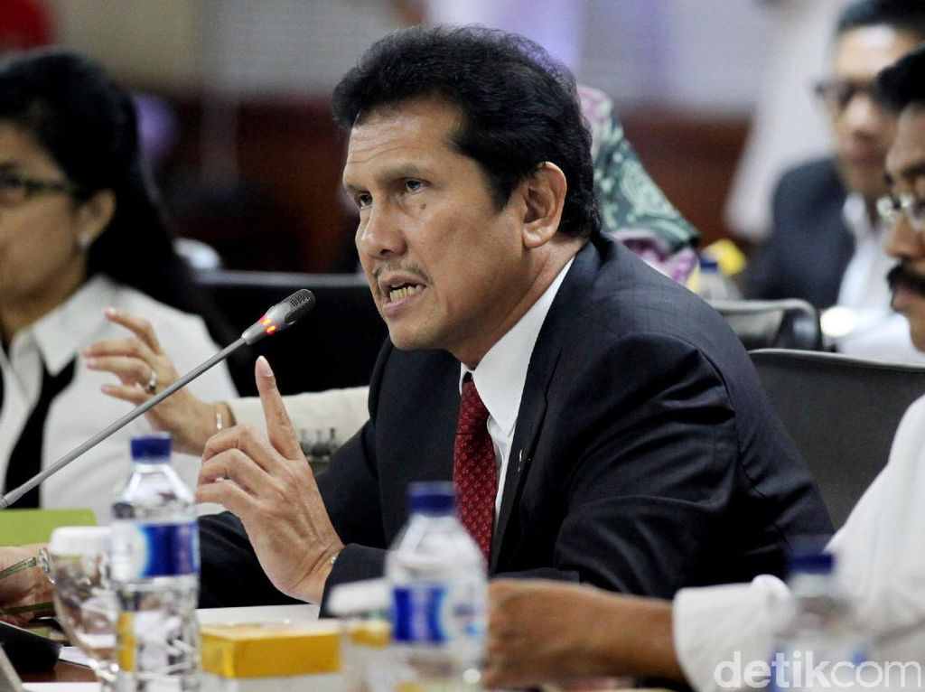 Menpan Raker Dengan Komite I DPD