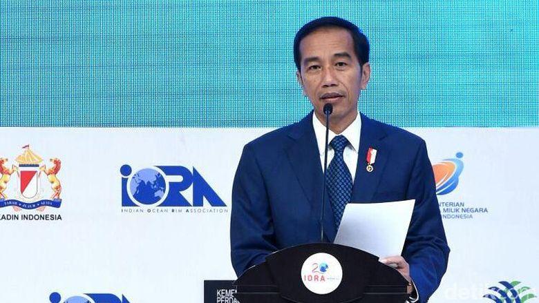 Jokowi Terima Presiden Sri Lanka dan Afsel di Istana