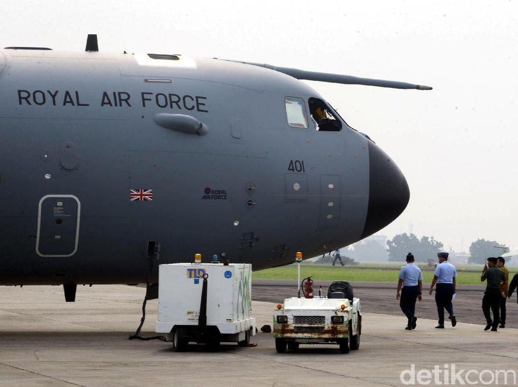 A400M, Pesawat Angkut AU Inggris Akan Unjuk Kecanggihan di RI