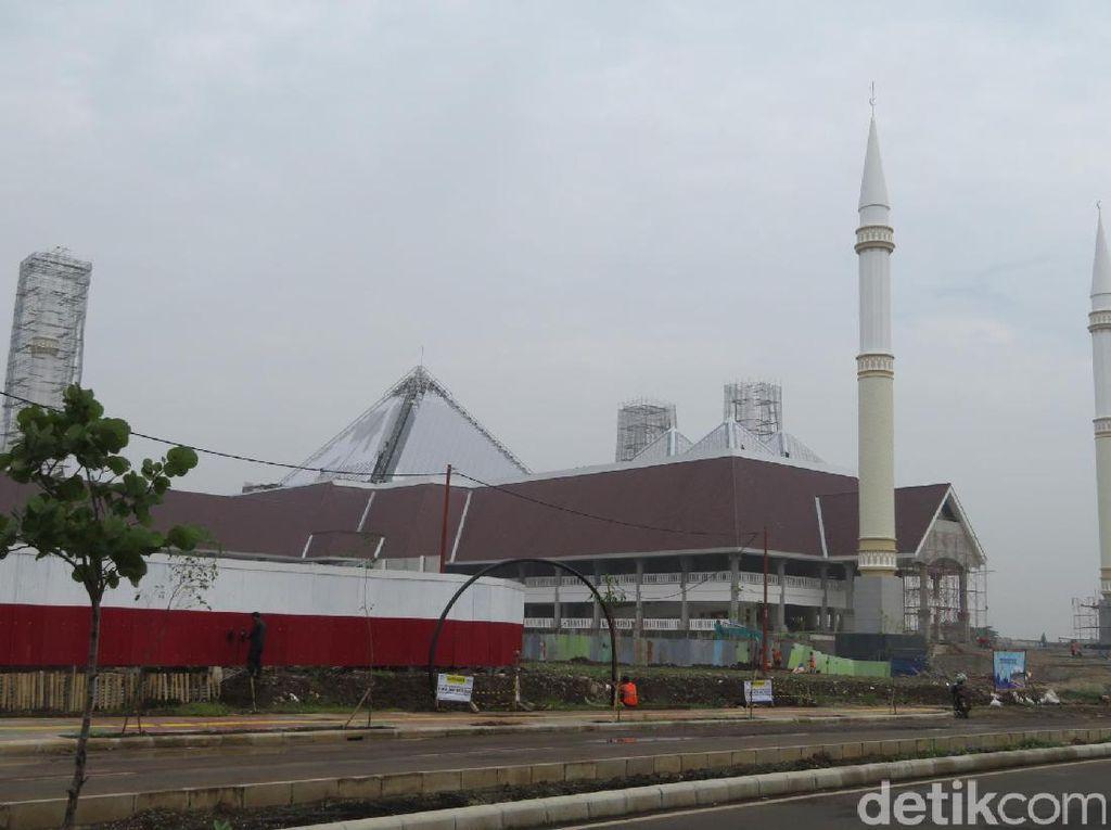 Sumarsono: Insyaallah Masjid Raya Jakarta Diresmikan Bulan Depan