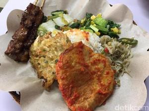 Mencicip Sate dan Telur Vegetarian yang Sedap di Bandung
