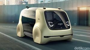 Singapura Kecipratan Mobil Tanpa Sopir VW