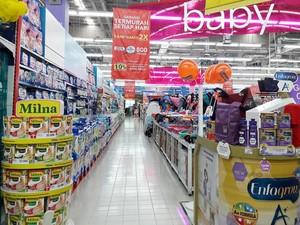 Promo Makanan Pendamping ASI di Transmart dan Carrefour
