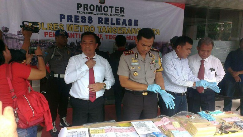 4 Pelaku Pungli di Kawasan Industri Tangerang Ditangkap Polisi